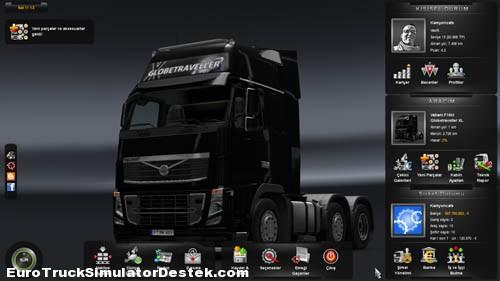 Gelişmiş Kullanıcı Paneli ve Euro Truck Simulator 2