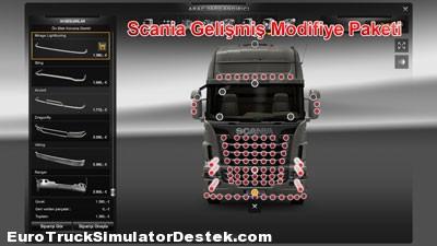 Scania Gelişmiş Modifiyeli