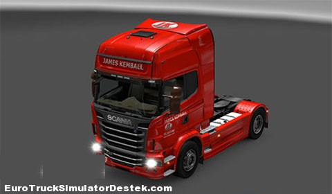 Scania James Kemball Skin