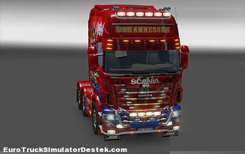 Scania Johannessen Bandidas 6×4
