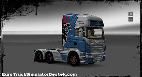 Scania Transporter Skin