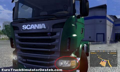 Scania Yeni Far Modelleri