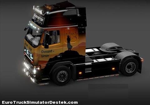 Volvo FH16 Desert Liner Skin