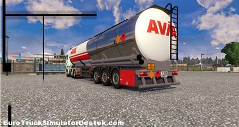 Yeni Tanker Dorseleri