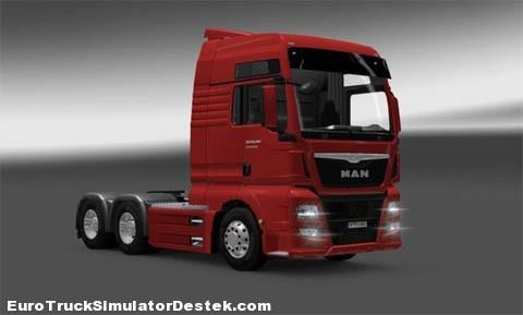 MAN TGX Euro 6 SZM 4×2 6×4