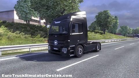 Mercedes Actros siyahskin