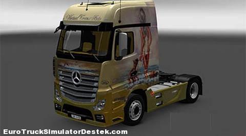 Mercedes Benz Actros MPIV Ganadas Skin
