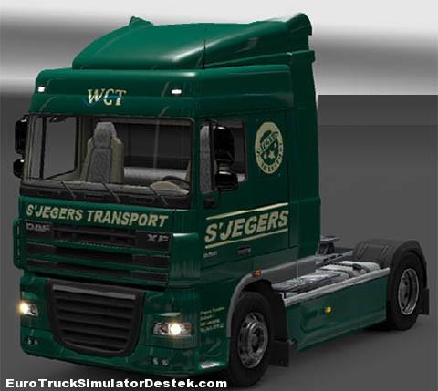 S'Jegers Transport DAF skin