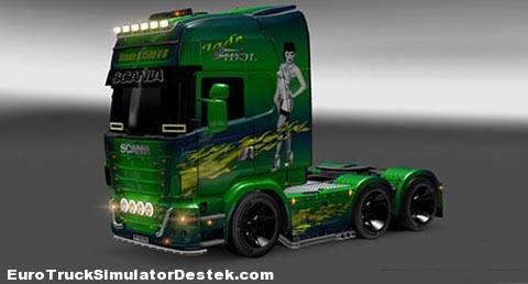 Scania Jade Idol Skin