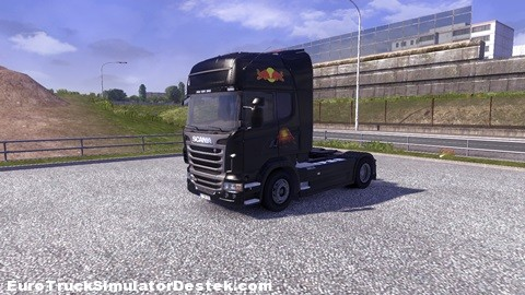 scaniaredbulskin