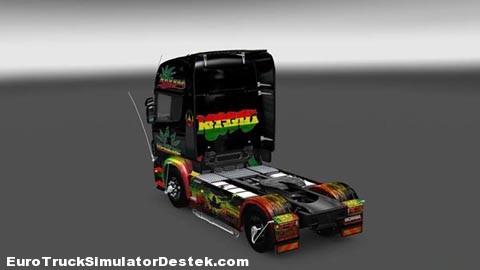Reggae-Scania-Skin