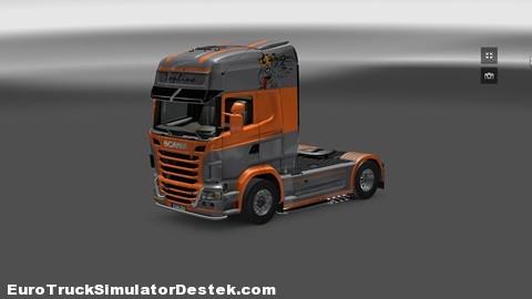 Scania R Topline Skin