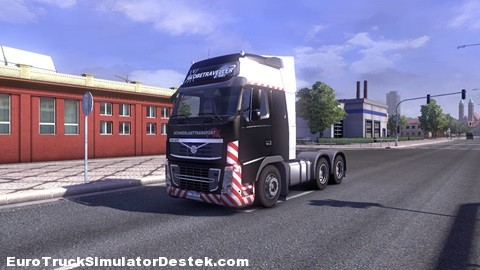 Volvo-SchwerlastTransport Skin