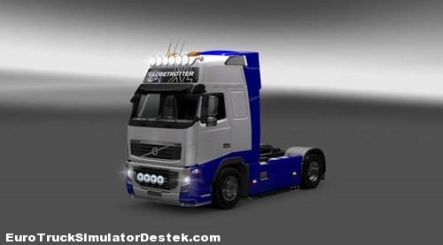 Volvo-FH-Skin-Blue-White
