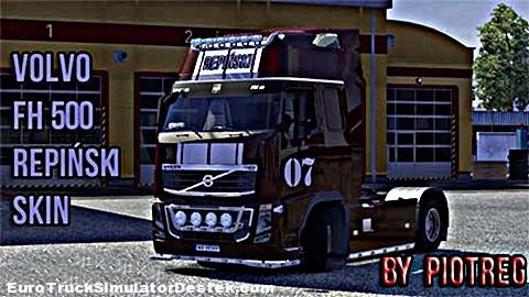 Volvo-Repinski-Skin