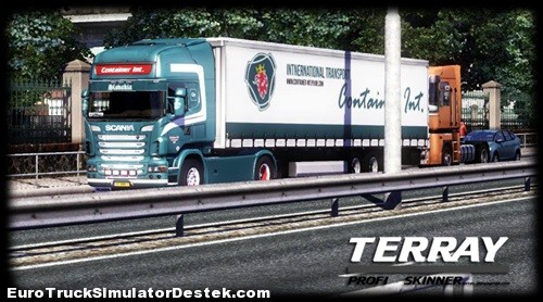 ETSDESTEK___SCANia_transport_dorse