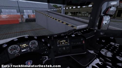 Scania Yeni iç Tasarım