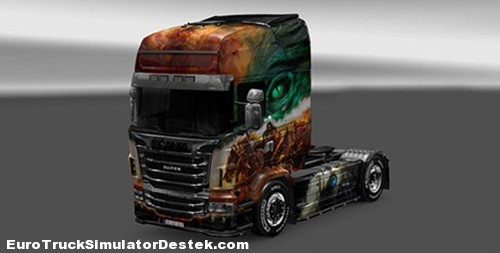 Scania Guild Wars 2 Skin__ETSDESTEK