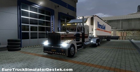 Kenworth W900aRC +American Trailer Pack mod