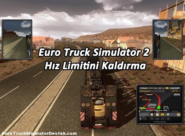 Euro Truck 2 90 Km Hız Limitini Kaldırma
