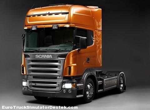 2004Scania R 580 4x2 Topline tractor unit