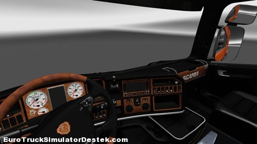 Scania-Koyu Cizgi-ozel-lc Tasarım