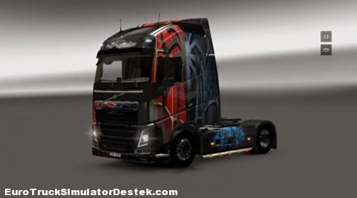 Volvo-FH-2012-Spiderman-Skin