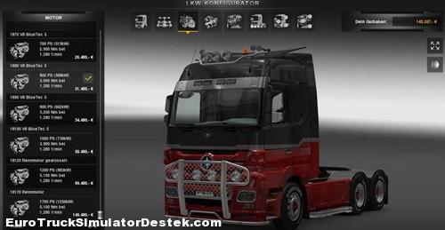 Scania-R-730 Motor-ve-Ses-Mod