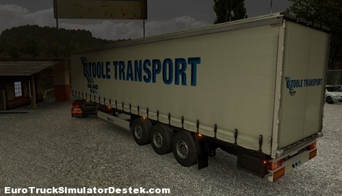 O'Toole Transport trailer