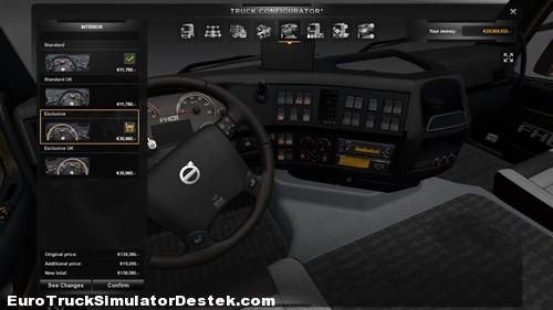Volvo-Klasik-Ozel-Siyah&Gri-Ic-Tasarim