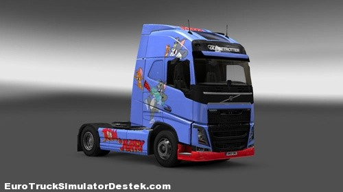 Volvo-FH-2012-Tom-Jerry-Skin-2