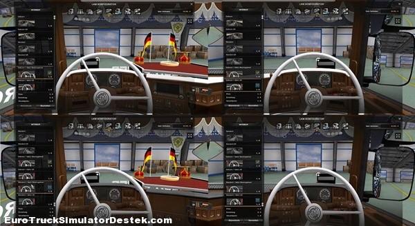 Scania R 2008 50k Vabis Modifiyeli Direksiyon