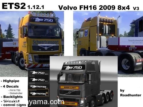 Volvo-FH-2009-8×4-Modifiye-Paketi