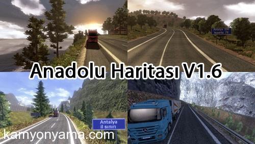 Anadolu Haritası V1.6(Yeni Versiyon ) İndir