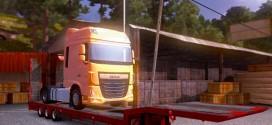 ETS 2 DAF Euro 6 AS Taşıma Dorse Modu