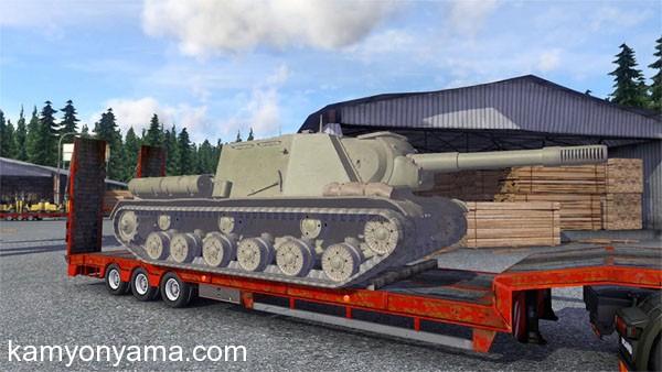 ISU-152-tank-tasima-dorse-modu