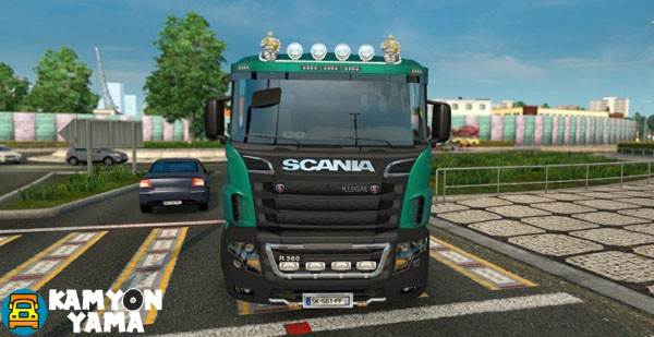scania-Illegal-v8-kamyon-yama