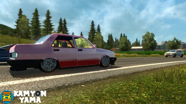 ets 2 – tofaş Şahin yaması – kamyonyama – kamyon oyunları mod
