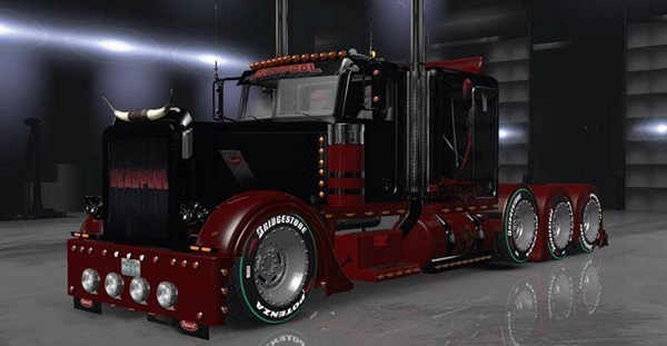 peterbilt-389-deadpool-skin