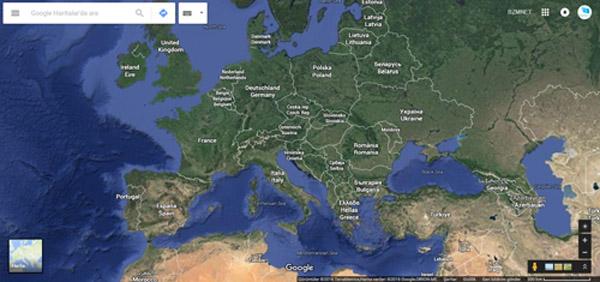 Dünya Haritası (Fransa)