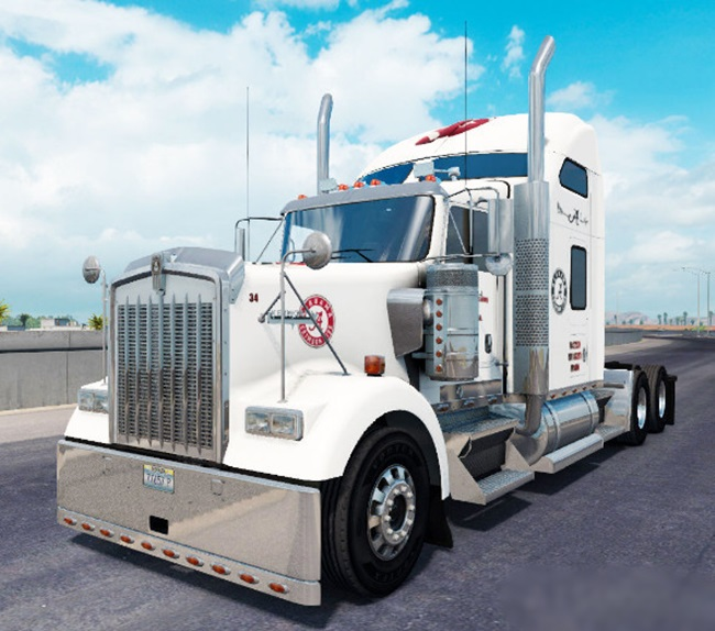 KENWORTH-W900-ALABAMA-SKİN