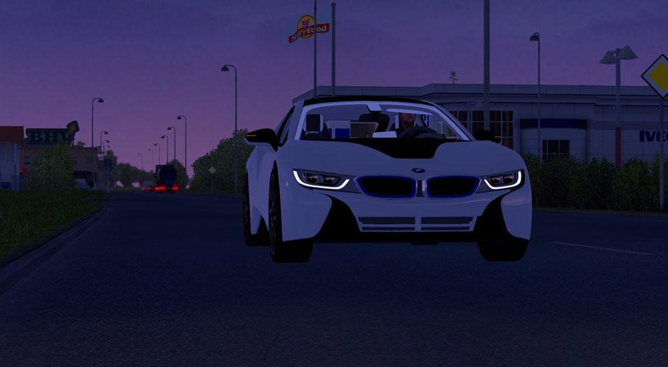 bmw-turning-araba