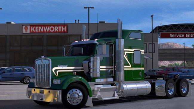 kenworth-w900-yesil-altin-skin