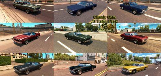 klasik-arabalar trafik-paketi