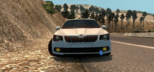 skoda-superb-araba-yama