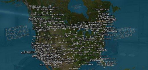 canadream-harita