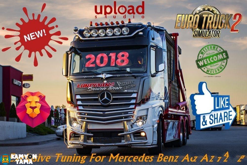 Nuevo Actros 2018 >> ETS2 – Mercedes Benz Actros MP4 Özel Modifiye (1.30.x) – KamyonYama.Com – Kamyon Oyunları Mod ve ...