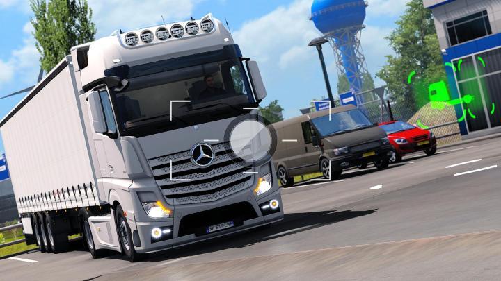 ETS2 Mercedes Benz Actros mp4 - YouTube
